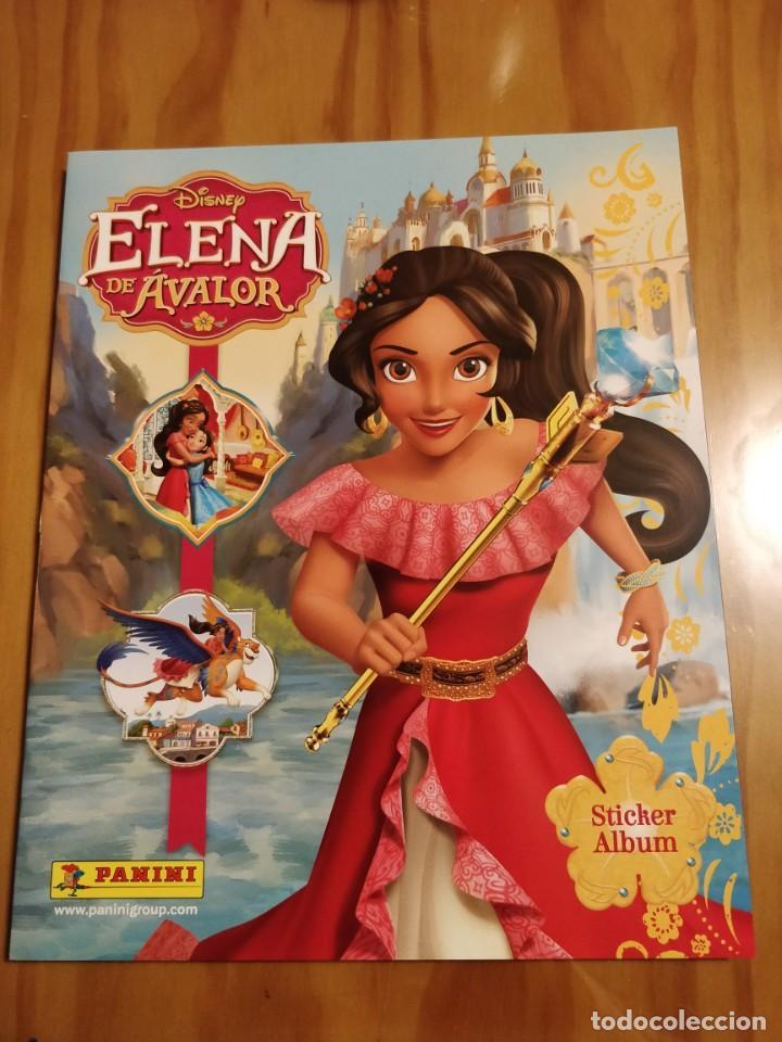 ÁLBUM PLANCHA ELENA DE ÁVALOR. PANINI (Coleccionismo - Cromos y Álbumes - Álbumes Incompletos)