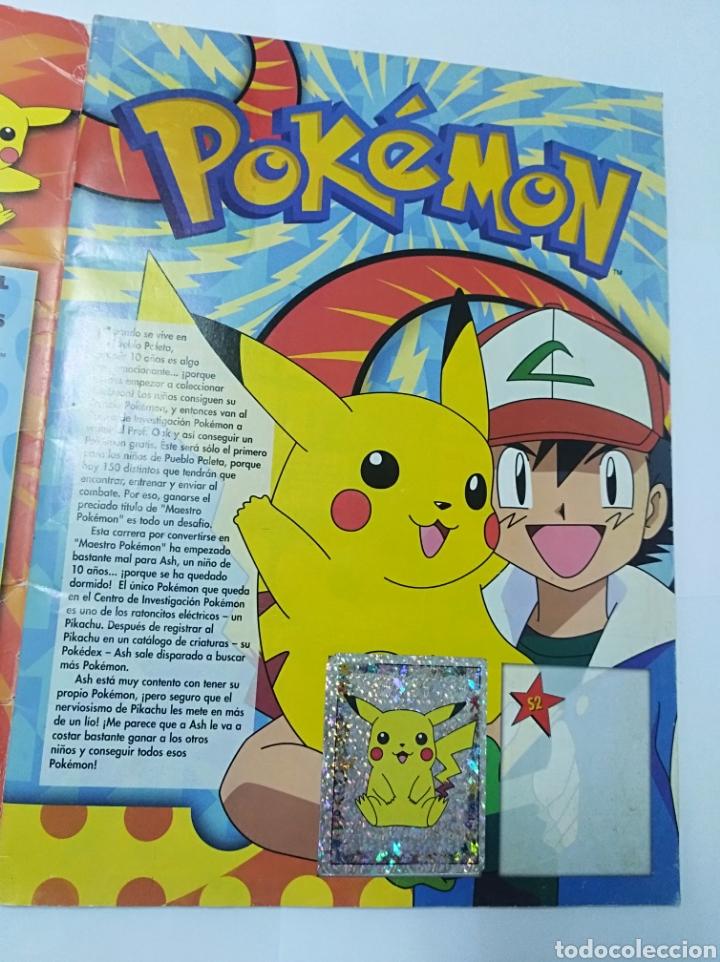 Coleccionismo Álbumes: Álbum cromos Pokemon Merlin incompleto Nintendo no Panini - Foto 2 - 195514616