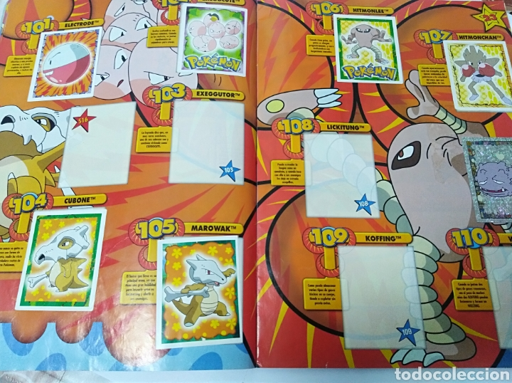 Coleccionismo Álbumes: Álbum cromos Pokemon Merlin incompleto Nintendo no Panini - Foto 13 - 195514616