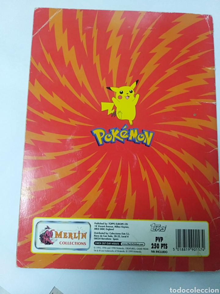 Coleccionismo Álbumes: Álbum cromos Pokemon Merlin incompleto Nintendo no Panini - Foto 29 - 195514616