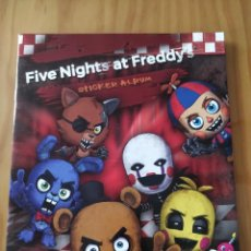 Coleccionismo Álbumes: ÁLBUM PLANCHA FIVE NIGHTS AT FREDDY'S. Lote 195531007
