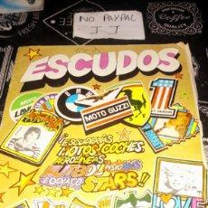 Coleccionismo Álbumes: ÁLBUM DE CROMOS VACÍO ESCUDOS DIFUSORA DE CULTURA VER FOTOS ESTADO MUY DETERIORADO. Lote 195563350