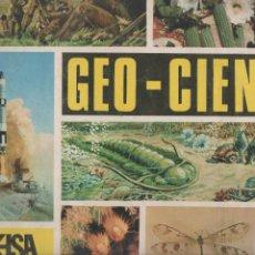 Coleccionismo Álbumes: ALBUN GEO CIENCIAS. Lote 195790037
