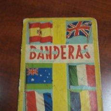 Coleccionismo Álbumes: ÁLBUM CROMOS DE BANDERAS N°1. Lote 196016633