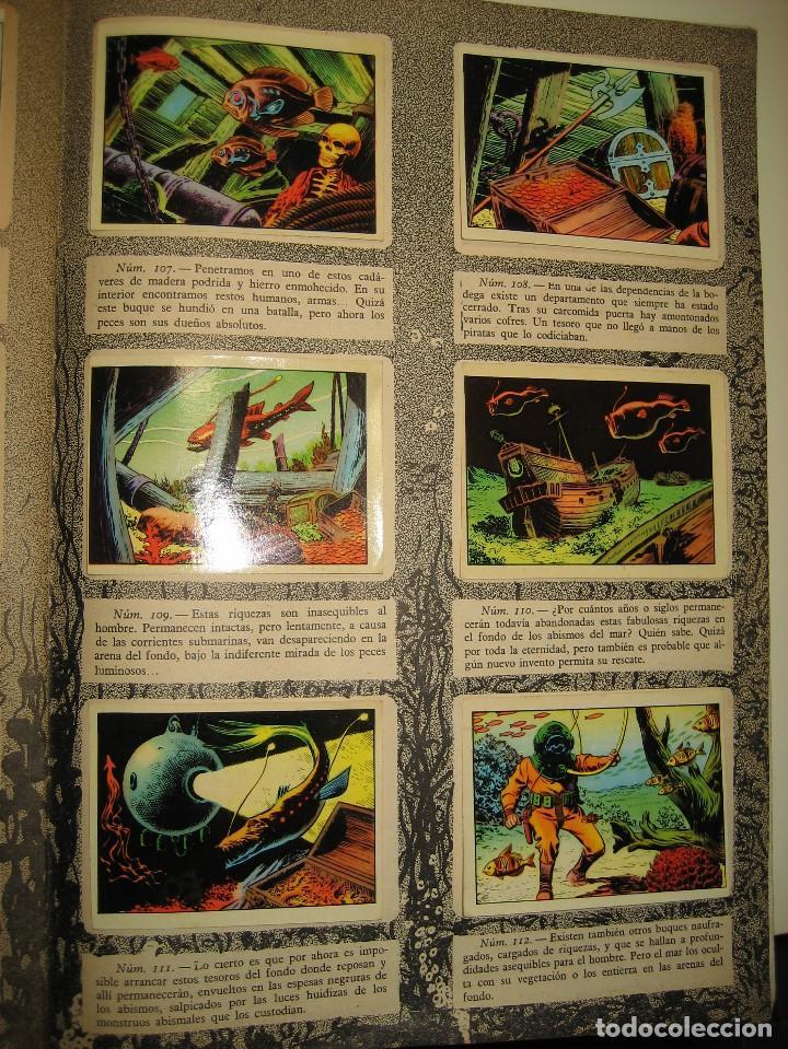 Coleccionismo Álbumes: ALBUM DE CROMOS LOS MISTERIOS DEL MAR. TORAY, 1957. - Foto 9 - 196557062