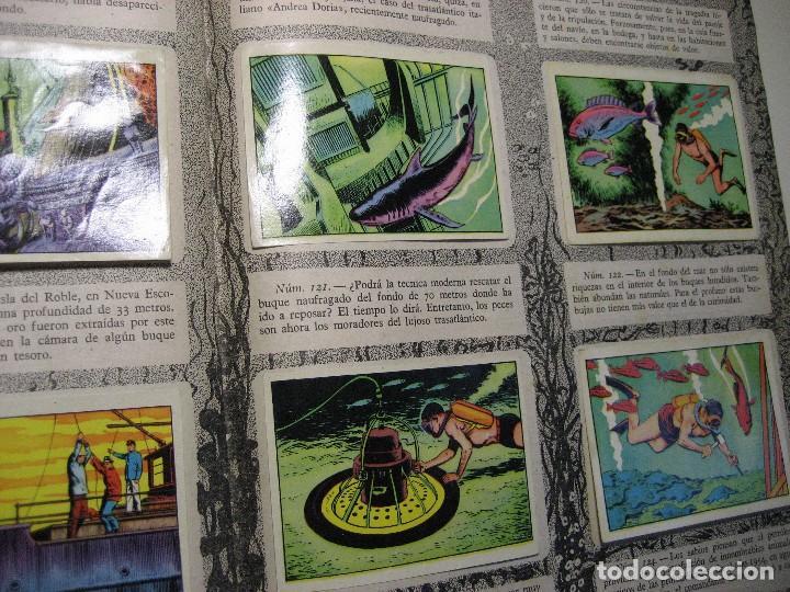 Coleccionismo Álbumes: ALBUM DE CROMOS LOS MISTERIOS DEL MAR. TORAY, 1957. - Foto 10 - 196557062