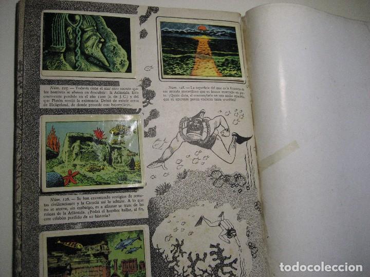 Coleccionismo Álbumes: ALBUM DE CROMOS LOS MISTERIOS DEL MAR. TORAY, 1957. - Foto 11 - 196557062