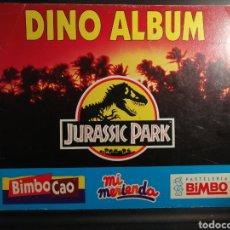 Coleccionismo Álbumes: DINO ALBUM JURASSIC PARK, VACIO. Lote 196635588