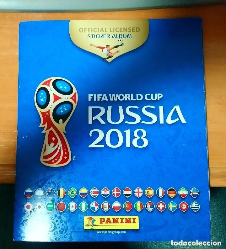 RUSIA 2018 FIFA WORLD CUP (Coleccionismo - Cromos y Álbumes - Álbumes Incompletos)