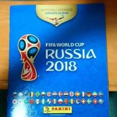 Coleccionismo Álbumes: RUSIA 2018 FIFA WORLD CUP. Lote 197086587