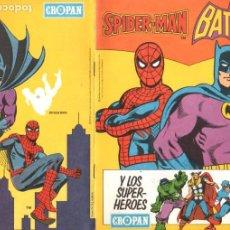 Coleccionismo Álbumes: SUPER HEROES CROPAN - NUEVO, SIN CROMOS. Lote 197159038