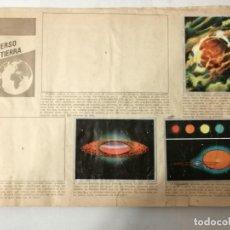Coleccionismo Álbumes: ÁLBUM EL UNIVERSO Y LA TIERRA.. Lote 197168636