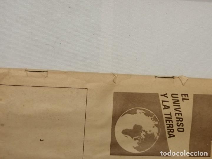 Coleccionismo Álbumes: ÁLBUM EL UNIVERSO Y LA TIERRA. - Foto 3 - 197168636