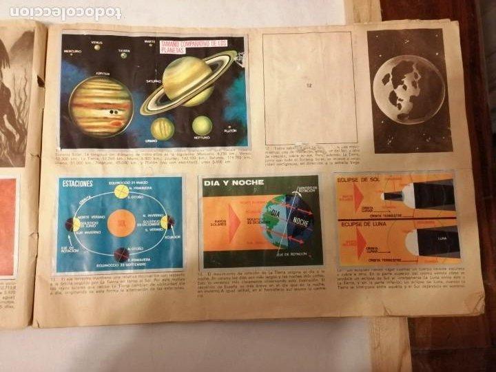 Coleccionismo Álbumes: ÁLBUM EL UNIVERSO Y LA TIERRA. - Foto 6 - 197168636