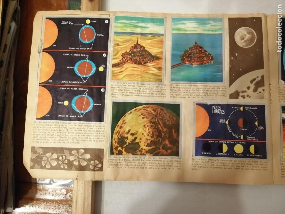 Coleccionismo Álbumes: ÁLBUM EL UNIVERSO Y LA TIERRA. - Foto 7 - 197168636