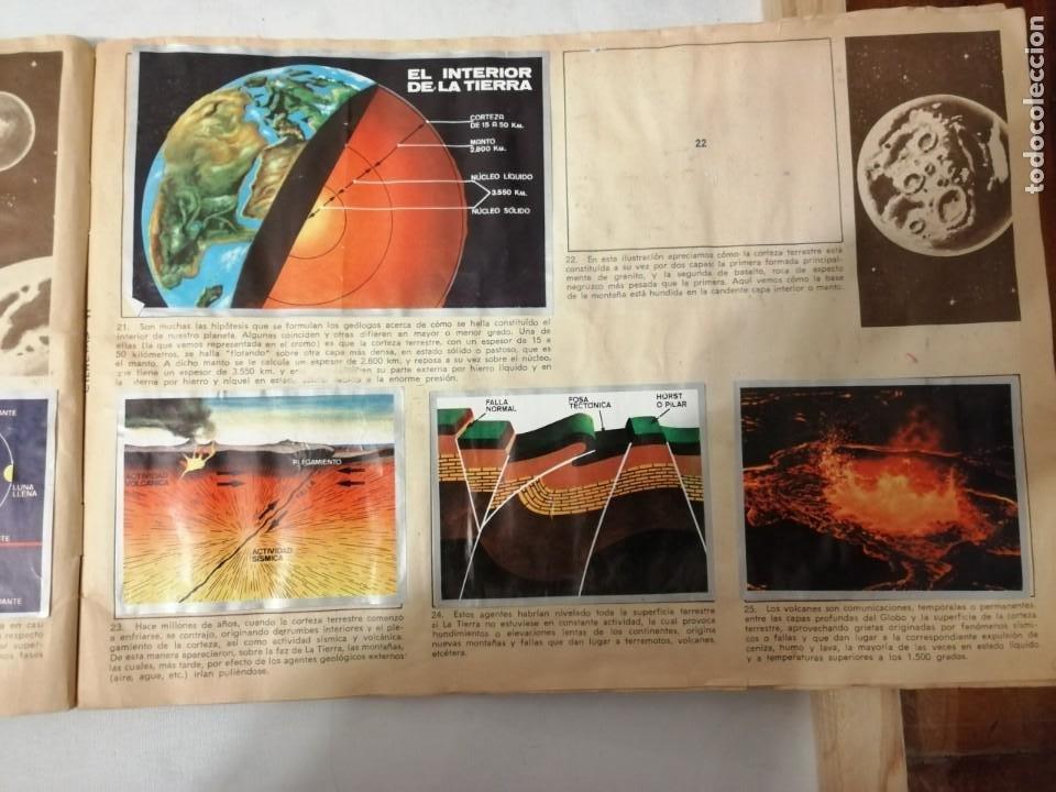 Coleccionismo Álbumes: ÁLBUM EL UNIVERSO Y LA TIERRA. - Foto 8 - 197168636