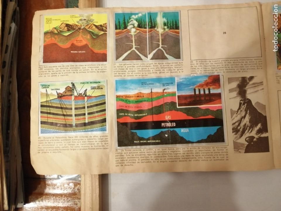 Coleccionismo Álbumes: ÁLBUM EL UNIVERSO Y LA TIERRA. - Foto 9 - 197168636