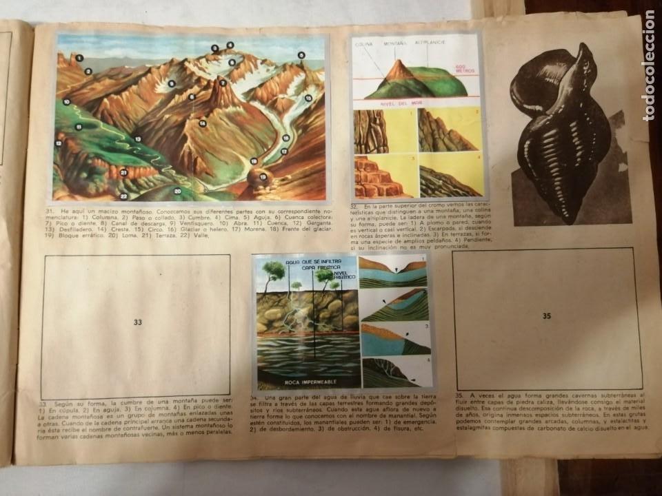 Coleccionismo Álbumes: ÁLBUM EL UNIVERSO Y LA TIERRA. - Foto 10 - 197168636