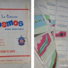 Coleccionismo Álbumes: LA COLECCIÓN COSMOS, GOMA HINCHABLE DE AVIONES, COHETES, SATÉLITES. 1967. CHICLES AMERICANOS. Lote 197438476
