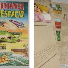 Coleccionismo Álbumes: GUARDIANES DEL ESPACIO. DE LA SERIE DE TV THUNDERBIRDS. 1967. FHER. CONTIENE 124 CROMOS. Lote 197443458