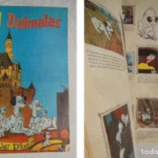 Coleccionismo Álbumes: 101 DÁLMATAS. 1962. FALTAN 2. Lote 197542255