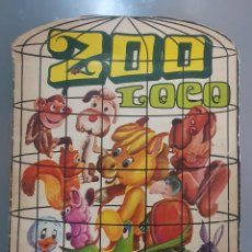 Coleccionismo Álbumes: ALBUM ZOO LOCO CON 124 CROMOS . Lote 197543577