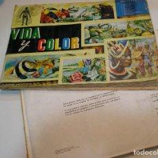 Coleccionismo Álbumes: VIDA Y COLOR + VIDA Y COLOR 2 FOTOS DE TODAS LAS HOJAS. Lote 197690038