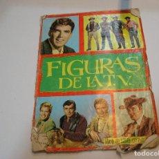 Coleccionismo Álbumes: ALBUM DE CROMOS FIGURAS DE LA TV. EDICIONES ESTE 1965. RARO.. Lote 197690570