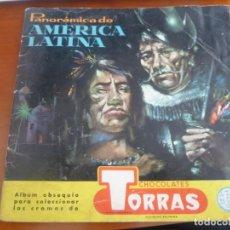 Coleccionismo Álbumes: PANORAMICA DE AMERICA LATINA CHOCOLATES TORRAS ALBUM DE CROMOS INCOMPLETO FALTA 103 CROMOS. Lote 197831906