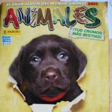 Coleccionismo Álbumes: ALBUM ANIMALES 2014 INCOMPLETO. Lote 198299177