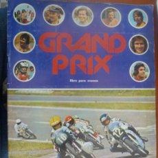 Coleccionismo Álbumes: GRAND PRIX ALBUM DE CROMOS INCOMPLETO BUEN ESTADO. Lote 199850702