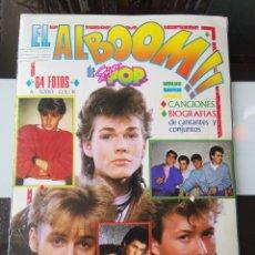 Coleccionismo Álbumes: ÁLBUM CROMOS ALBOOM REVISTA SUPER POP CASI COMPLETO MBE. Lote 199889777