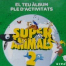 Collezionismo Album: ALBUM SUPER ANIMALS 2 - VACIO- . Lote 200082835