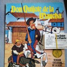 Coleccionismo Álbumes: ÁLBUM NUEVO DON QUIJOTE DE LA MANCHA DE BRUGUERA +100 CROMOS. Lote 200824072