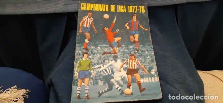 1977 78 77 78 DISGRA FHER ALBUM VACÍO NO PLANCHA BUEN ESTADO (Coleccionismo - Cromos y Álbumes - Álbumes Incompletos)