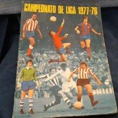 Coleccionismo Álbumes: 1977 78 77 78 DISGRA FHER ALBUM VACÍO NO PLANCHA BUEN ESTADO. Lote 201265240