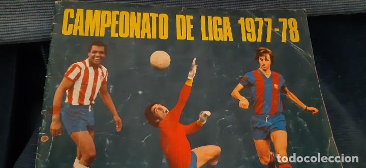 Coleccionismo Álbumes: 1977 78 77 78 DISGRA FHER ALBUM VACÍO NO PLANCHA BUEN ESTADO - Foto 6 - 201265240