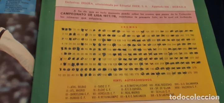 Coleccionismo Álbumes: 1977 78 77 78 DISGRA FHER ALBUM VACÍO NO PLANCHA BUEN ESTADO - Foto 24 - 201265240