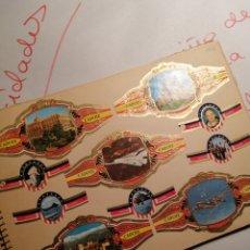 Coleccionismo Álbumes: VITOLAS EN ÁLBUM PEGADAS TAL FOTOS. Lote 202585852