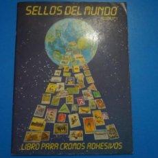 Coleccionismo Álbumes: ALBUM INCOMPLETO DE SELLOS DEL MUNDO ALBUM Nº 1 AÑO 1987 DE TELEKITOS. Lote 202614332