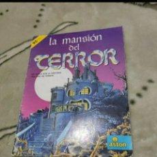 Coleccionismo Álbumes: ALBUM LA MANSIÓN DEL TERROR. Lote 203100741