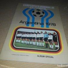 Coleccionismo Álbumes: ALBUM ARGENTINA 78 DE RUIZ ROMERO VACIO Y COMO DE IMPRENTA. Lote 203141135