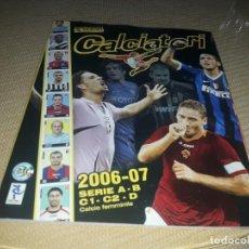 Coleccionismo Álbumes: ALBUM CALCIATORI 2006-07 NUEVO Y VACIO DE PANINI. Lote 203141521