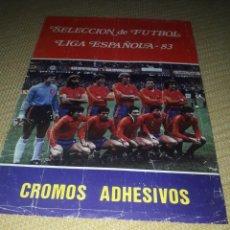 Coleccionismo Álbumes: ALBUM LIGA ESPAÑOLA 83 CASI COMPLET0. Lote 203141720