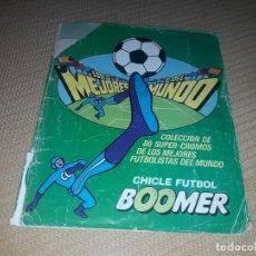 Coleccionismo Álbumes: ALBUM DE CHICLES BOOMER. Lote 203144172
