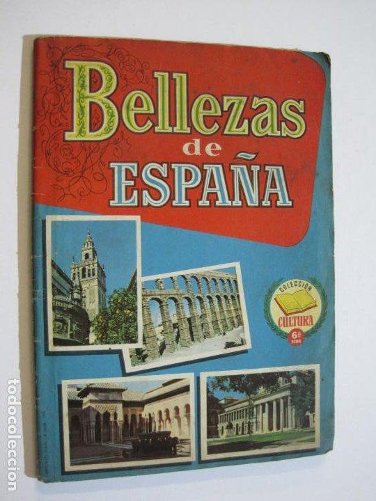 Coleccionismo Álbumes: BELLEZAS DE ESPAÑA-EDITORIAL BRUGUERA-ALBUM DE CROMOS INCOMPLETO-VER FOTOS-(V-19.921) - Foto 2 - 203177583