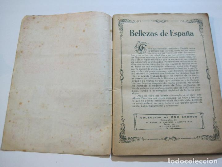 Coleccionismo Álbumes: BELLEZAS DE ESPAÑA-EDITORIAL BRUGUERA-ALBUM DE CROMOS INCOMPLETO-VER FOTOS-(V-19.921) - Foto 11 - 203177583