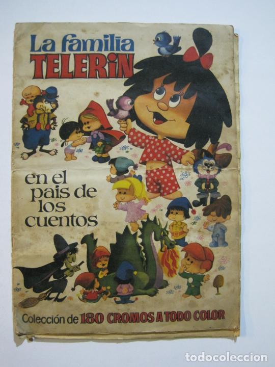 Coleccionismo Álbumes: LA FAMILIA TELERIN EN EL PAIS DE LOS CUENTOS-BRUGUERA-INCOMPLETO-FALTAN 9 CROMOS-VER FOTOS(V-19.926) - Foto 2 - 203185726