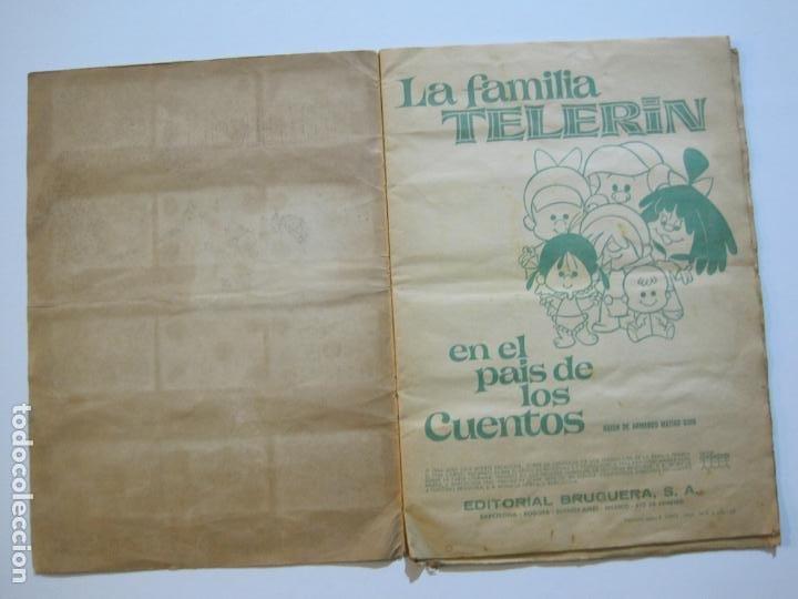 Coleccionismo Álbumes: LA FAMILIA TELERIN EN EL PAIS DE LOS CUENTOS-BRUGUERA-INCOMPLETO-FALTAN 9 CROMOS-VER FOTOS(V-19.926) - Foto 6 - 203185726