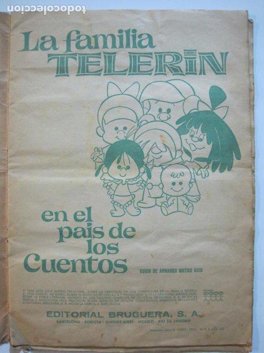 Coleccionismo Álbumes: LA FAMILIA TELERIN EN EL PAIS DE LOS CUENTOS-BRUGUERA-INCOMPLETO-FALTAN 9 CROMOS-VER FOTOS(V-19.926) - Foto 8 - 203185726